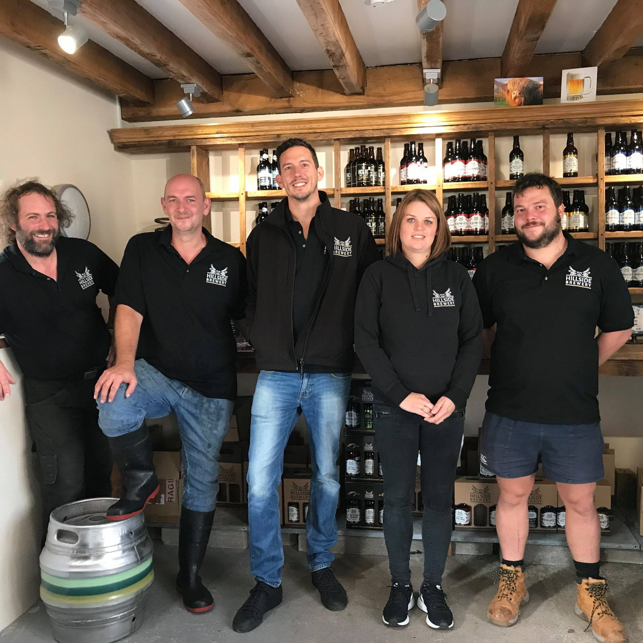 Hillside Brewery Team