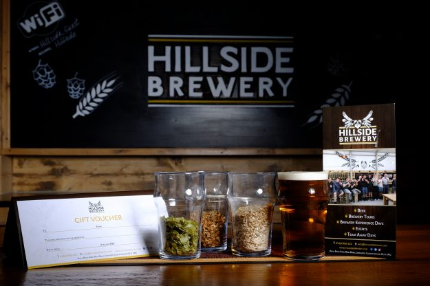 Brewery tour gift voucher, activity day voucher and brewing experience day.