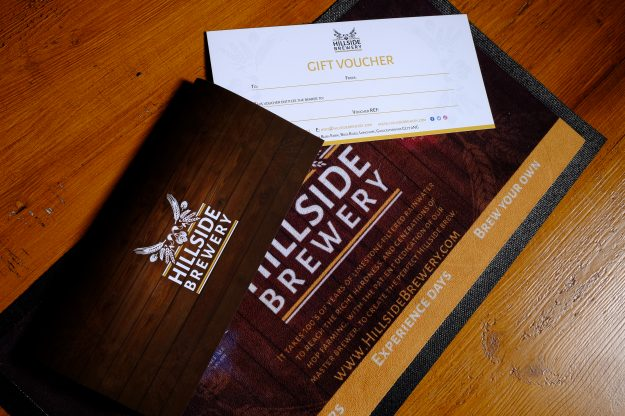blank brewery tour, experience or activity voucher