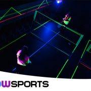 Glowsports Badminton, a unique team building activity or sport for all abilities