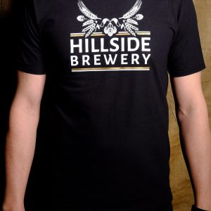 Hillside Brewery Black T-Shirt (Front)