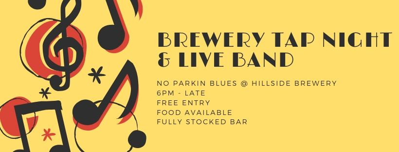 Brewery tap night live blues band.