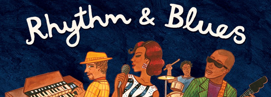 Rhythm & Blues evening banner.
