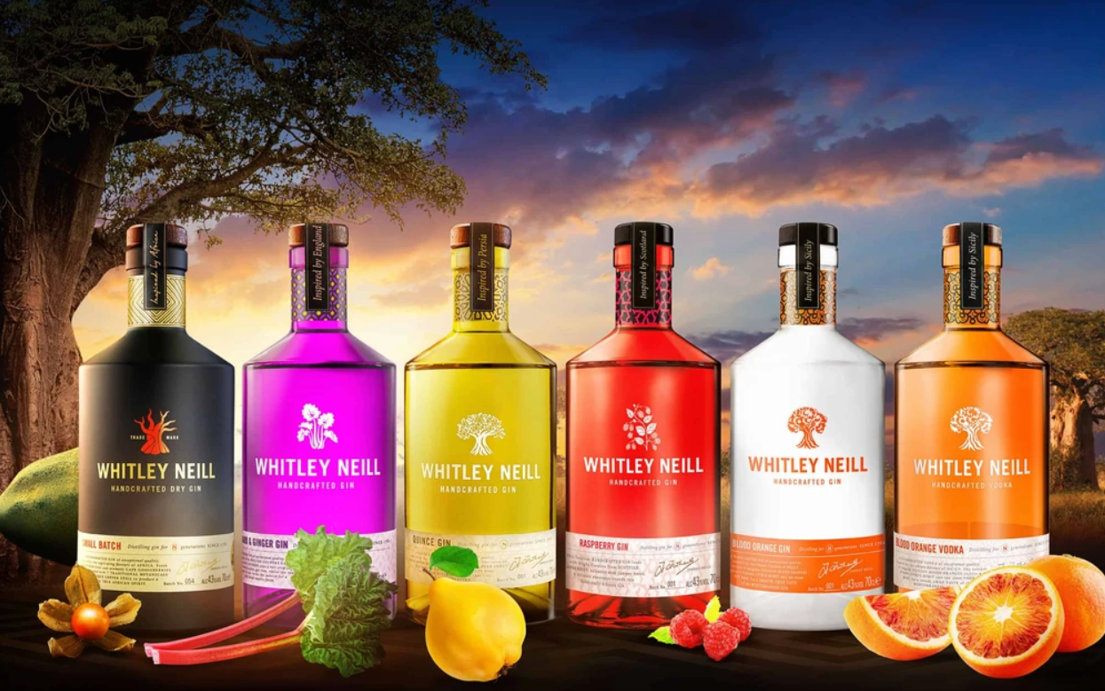 Whitley Neill Range of Gin
