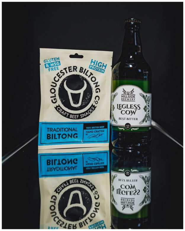 Traditional Biltong and Legless Cow Best Bitter Beer