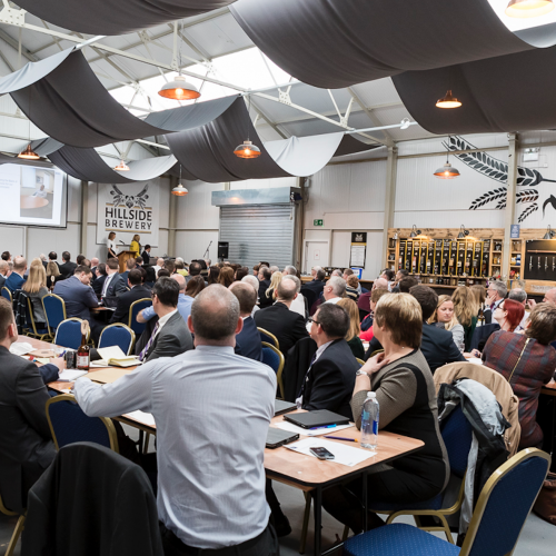 Natwest Conference at Hillside Brewery