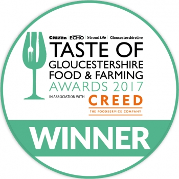 Taste of Gloucestershire Food and farming awards for best drinks producer WINNER 2017